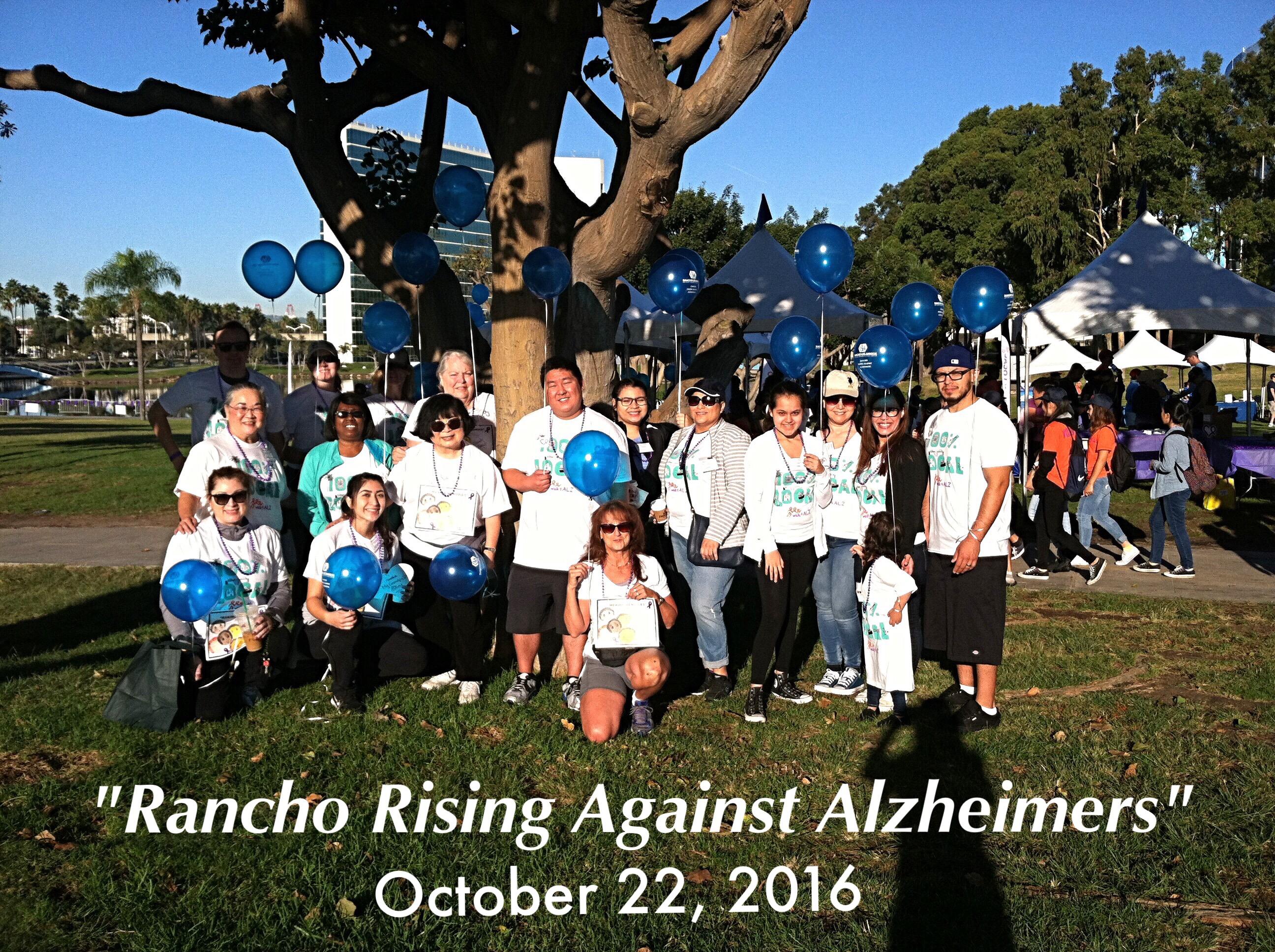 Rancho Los Amigos Alzheimer's